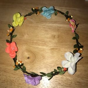 FREE WITH PURCHASE- floral crown